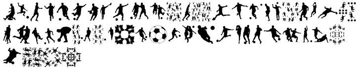 Football World Font Sample