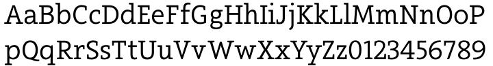 Arventa Std Slab Font Sample
