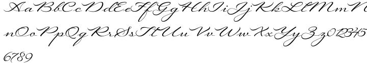 Regina Font Sample