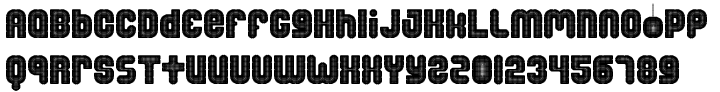 Disco Salvation Font Sample