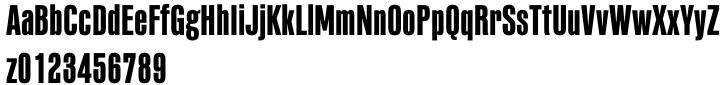 PF Fusion Sans™ Pro Font Sample