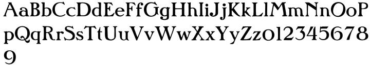 P22 PanAm™ Font Sample