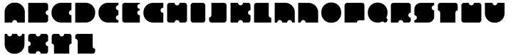 Geometry Circle Font Sample