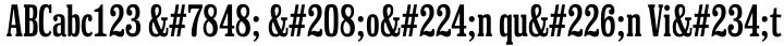 Hackensack Font Sample