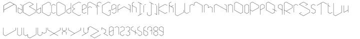 Aneira Font Sample