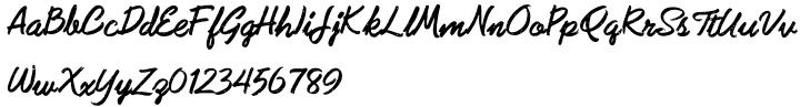 Subroc Font Sample