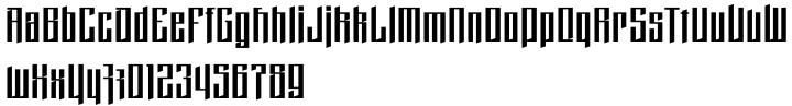 Domstadt Font Sample