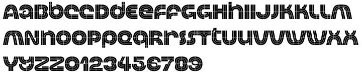Automoto Font Sample