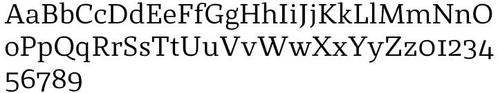 St Marie™ Font Sample