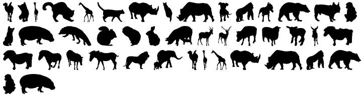 Furry Font Sample