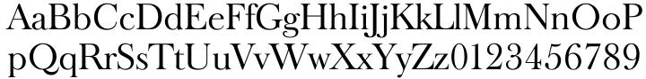 Baskerville Old Serial™ Font Sample