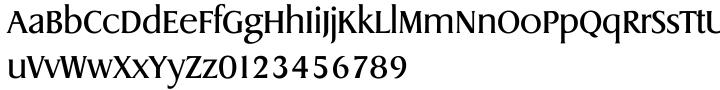 Dragon Serial™ Font Sample