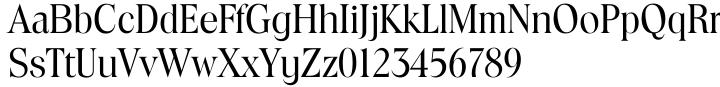 Toledo Serial™ Font Sample