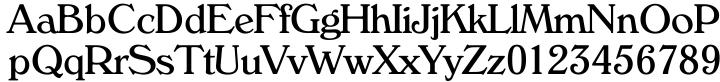 Verona Serial™ Font Sample