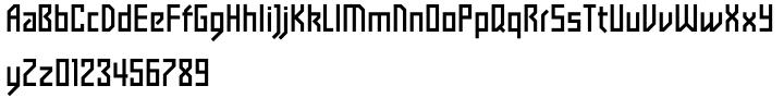 Tasci Kufi Font Sample