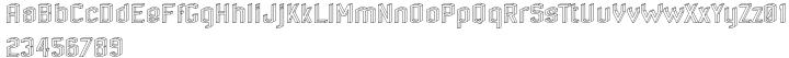 RM Alphabox Font Sample