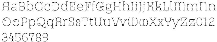 St Friska™ Font Sample