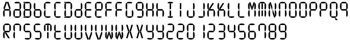 ION A Font Sample
