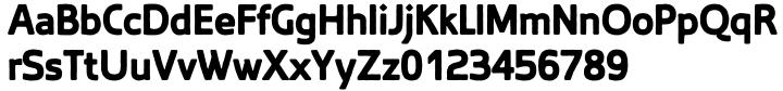 Blocksta Font Sample
