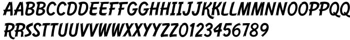 Western Dressing Font Sample