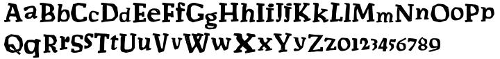 Salamemingoe Font Sample