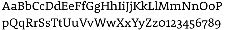 Rooney Font Sample