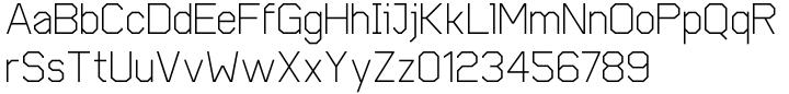 Cobol Font Sample