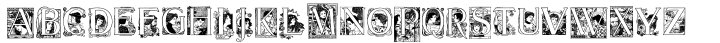 20th Century German™ Font Sample