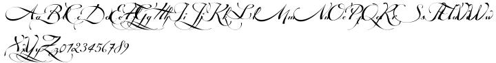 Tosca Font Sample