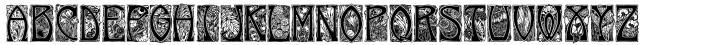 Maurice Dufrene Initials™ Font Sample