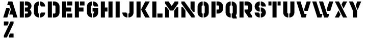 YWFT Estenceler Font Sample