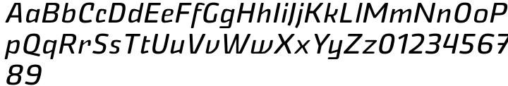 Nikaia™ Font Sample