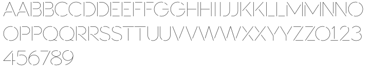 Sevigne ST Font Sample