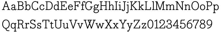 Bodoni Egyptian Pro® Font Sample
