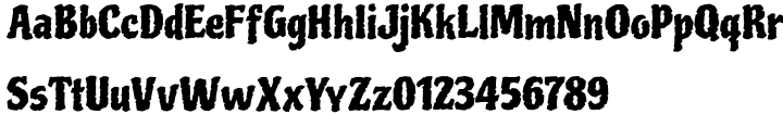 Piedra Pro Font Sample
