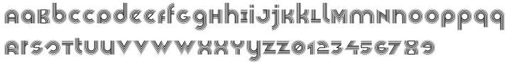 Veselka 4F™ Font Sample