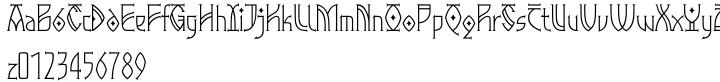 EF Gloin™ Font Sample