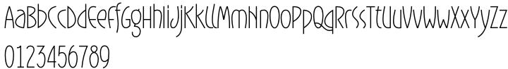 Gaisma Font Sample