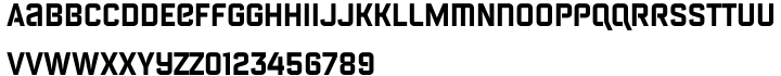 Febrotesk 4F™ Font Sample
