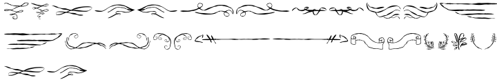 ABTS Feather Pen Font Sample