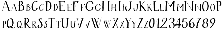 Bodoni At Home Font Sample