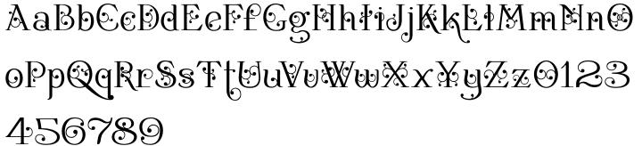 Bertolessi Font Sample