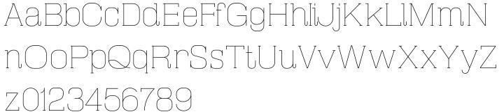 Masherbrum Slab Font Sample