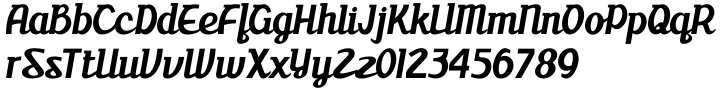ABTS milk Font Sample
