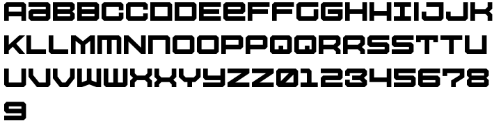 Tactical Font Sample