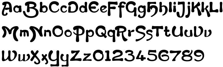 Flapper Font Sample