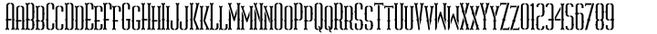 ABTS Gunsmoke Font Sample