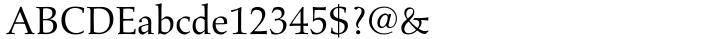 Aldus® Font Sample