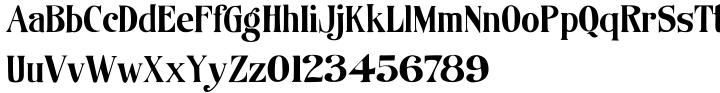 Organically™ Font Sample