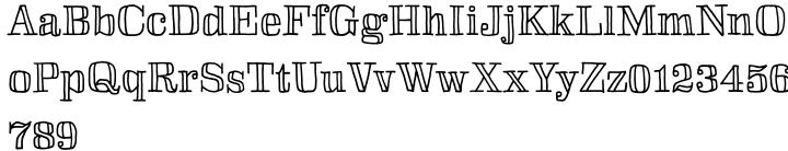 Skitch Font Sample